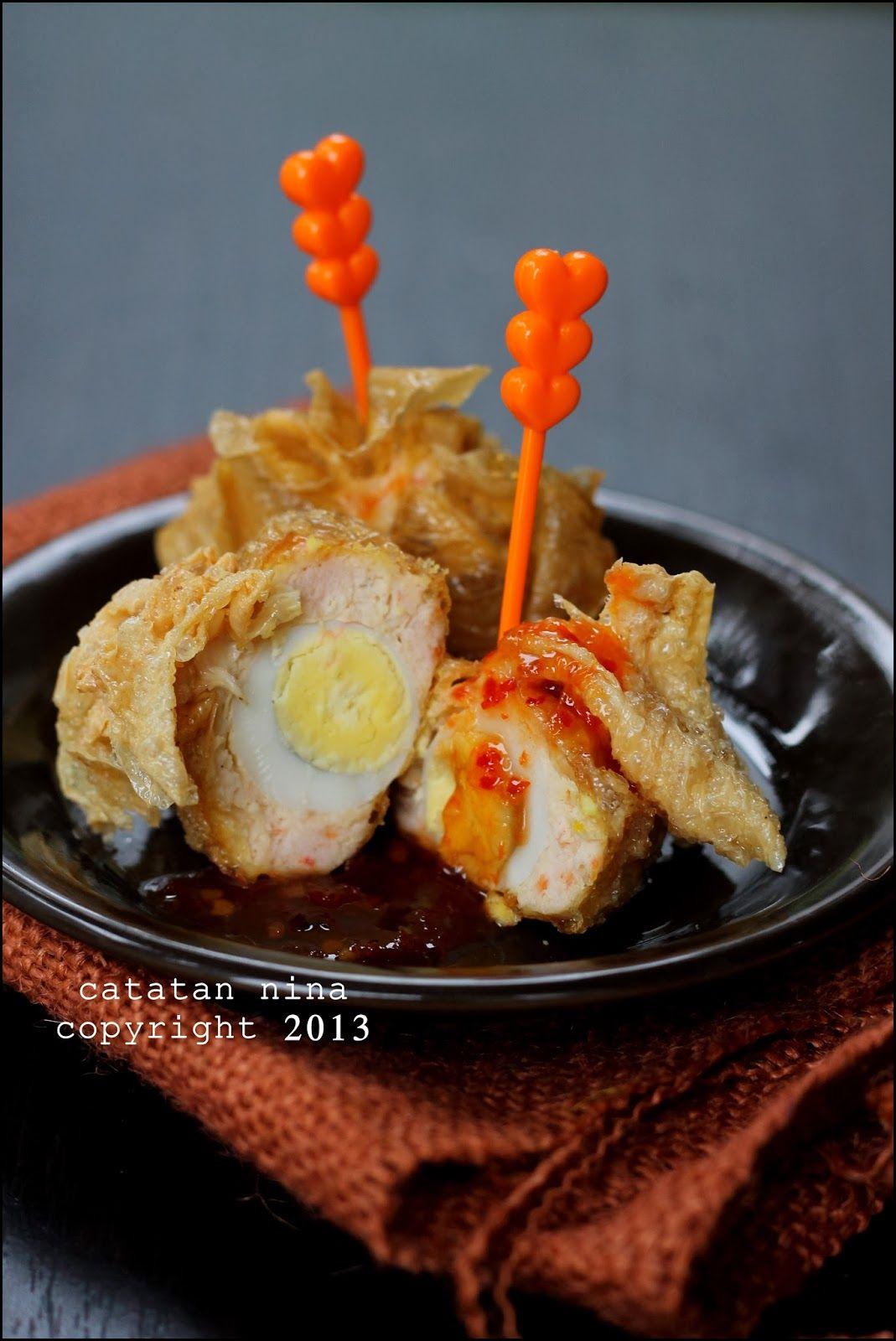 resep masakan ekado resep manis masakan indonesia Resepi Isi Pangsit Ayam Enak dan Mudah