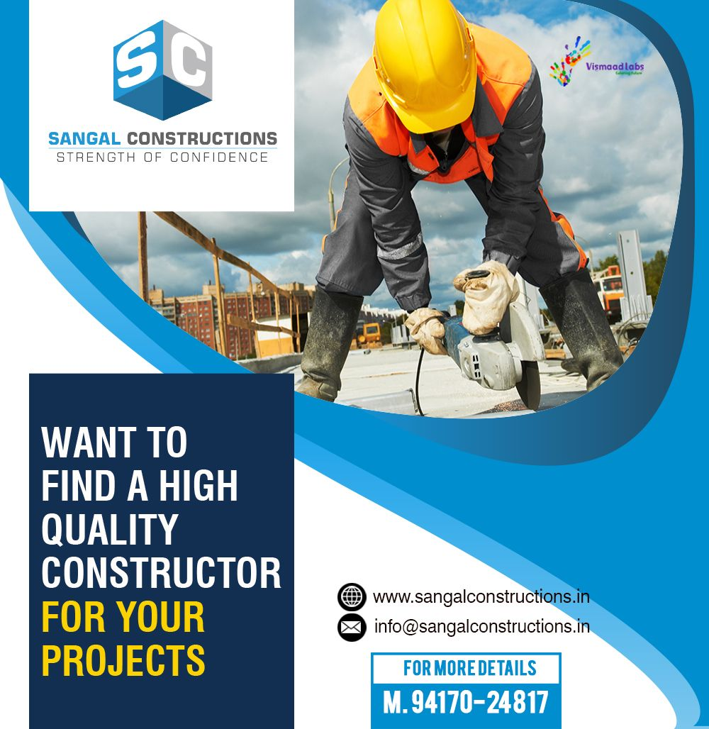 Get One of the famous construction companies in North #India