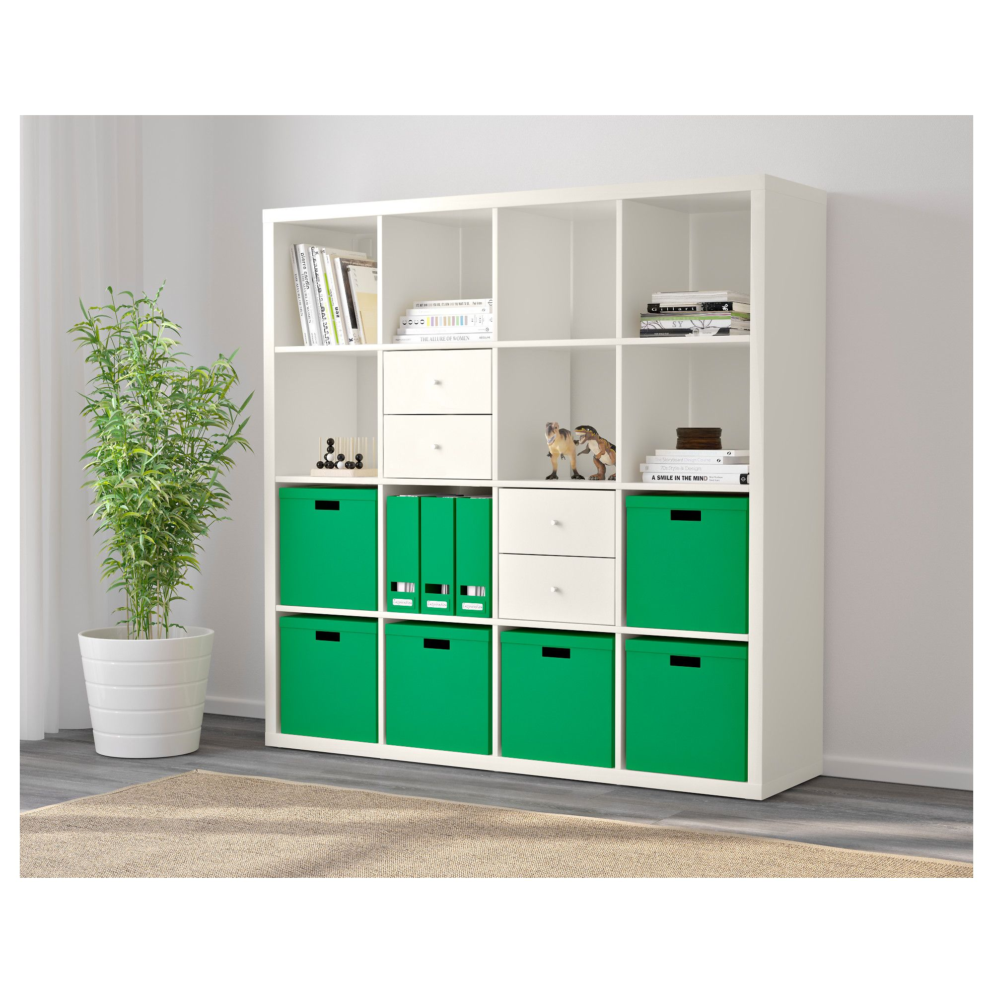 Kallax Shelving Unit White 147×147 Cm Kallax Shelving Unit  # Bibliotheque Expedit Ikea Occasion