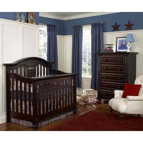 cuna cama bebe baby cache kensington espresso vbf | cuarto del bebe ...