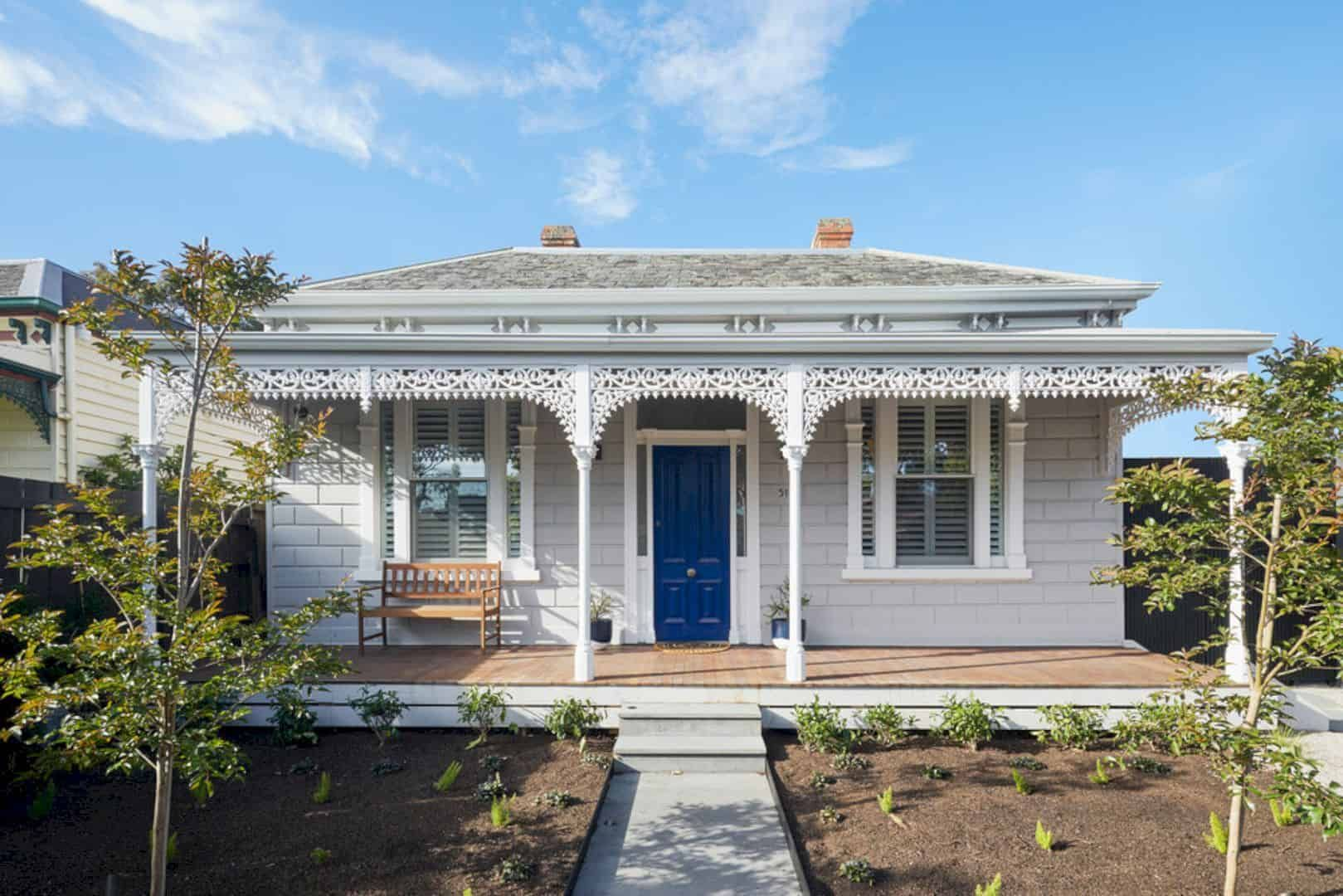 Roseberry Street House Hawthorn East A Double Fronted Victorian Terrace House With A Spacious Light Filled Modern Extension In 2020 Victorian Terrace House Victorian Terrace Terrace House