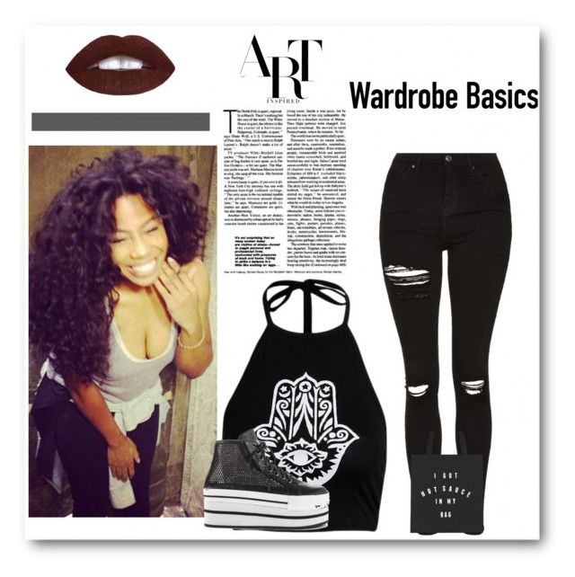 """""""Afro-Punk"""" by awksilence on Polyvore featuring Topshop, Y.R.U., Dark, afro and afropunk"""