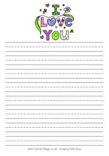 Free printable valentine stationary | Teaching - Winter