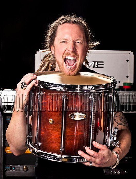 Barry Kerch_Modern Drummer | Shinedown Various Photos ...