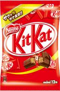 Kit Kat Minis twelve pack, Japan 2010