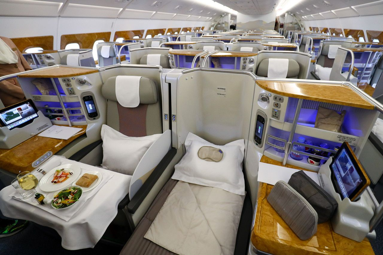 Chateau Margaux For Seat 2a Emirates Rewrites Rules For Airlines