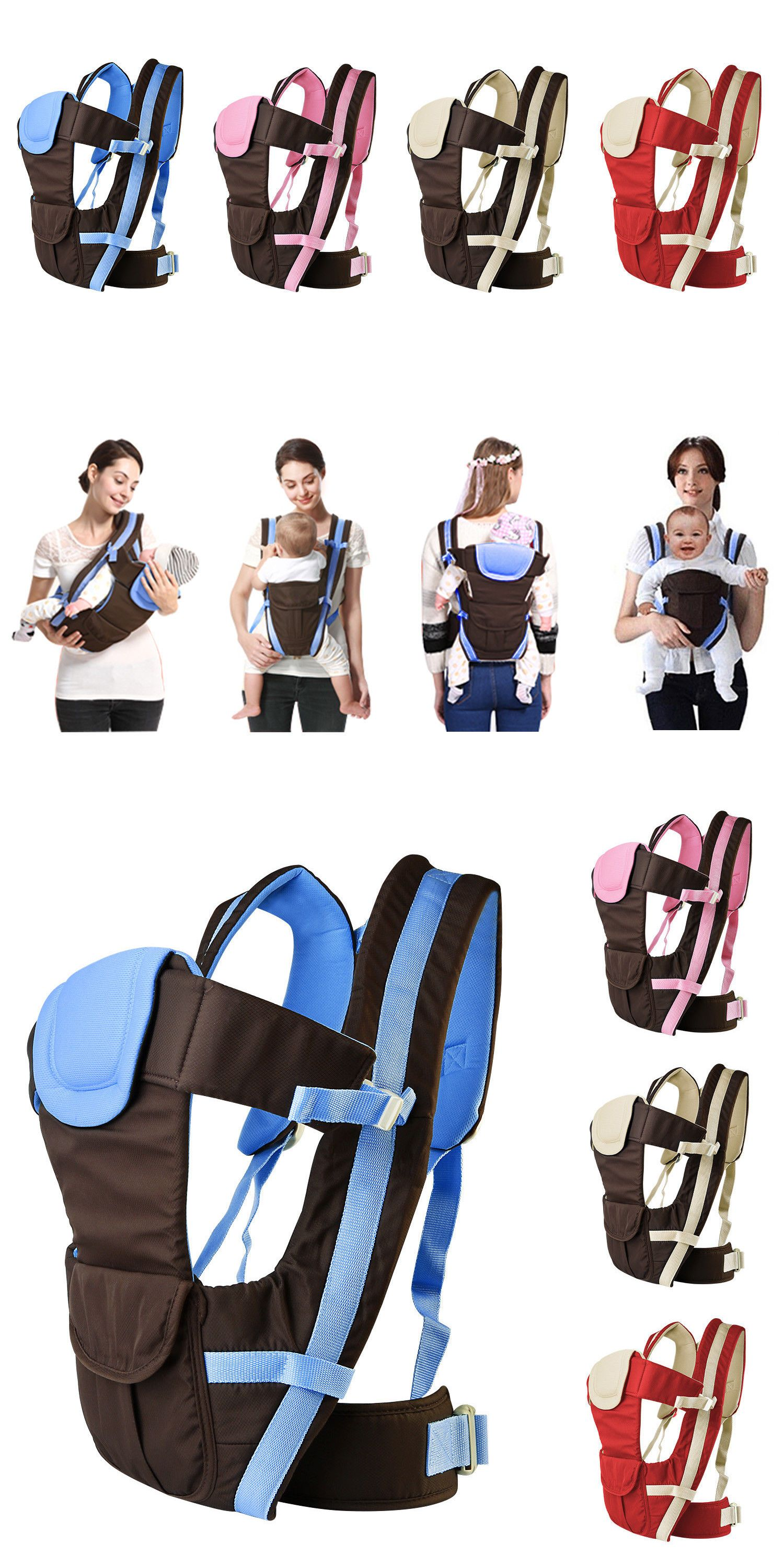 ae9de9fb5dc Carriers Slings and Backpacks 100982  Newborn Infant Baby Carrier  Breathable Ergonomic Adjustable Wrap Sling Backpack