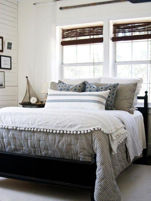 Coastal Cottage Masculine Bedroom Google Search Master Bedroom Inspiration Coastal Bedroom Decorating Bedroom Decor