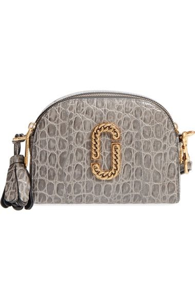 Marc Jacobs Small Shutter Leather Crossbody Bag Available At Nordstrom Shutters