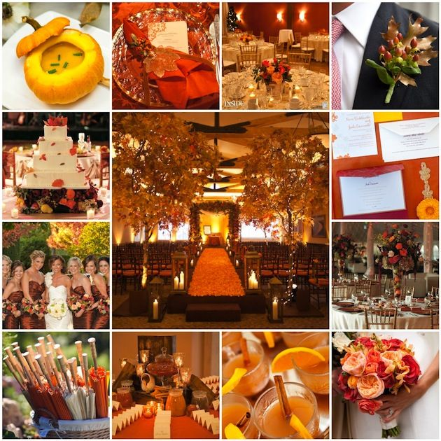 We love this wedding aisle runner for the fall very dramatic and 22 fall wedding details definitely worth emulating junglespirit Image collections