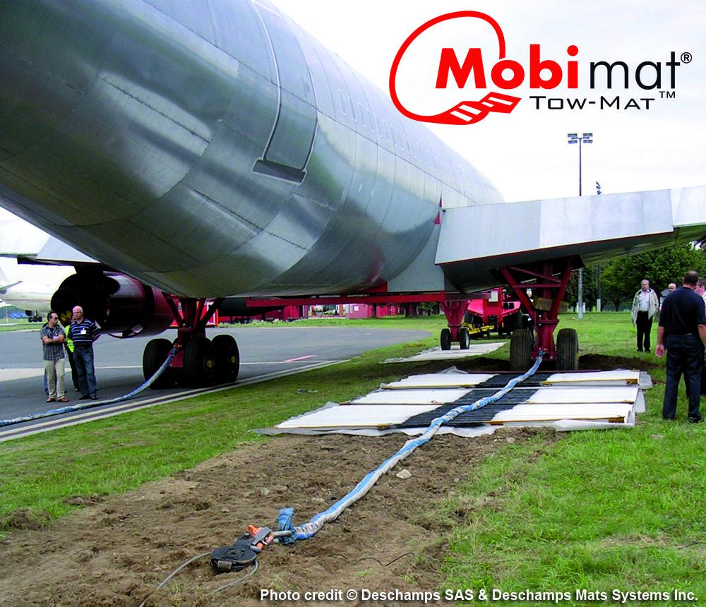 Mobi Mat Aircraft Recovery Tow Mat Aircraft Towing Mats
