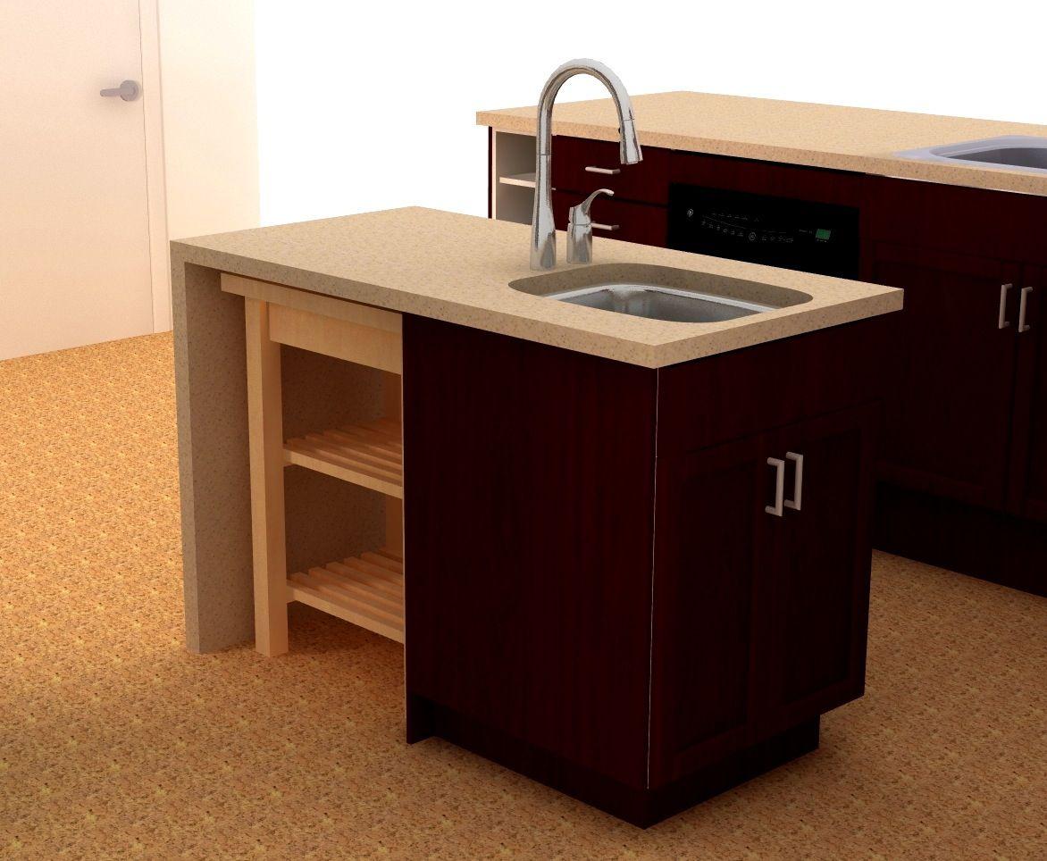Small Kitchen Sink Cabinet  Kitchen Decorating Ideas On A Budget Alluring Sink Cabinet Kitchen Inspiration Design