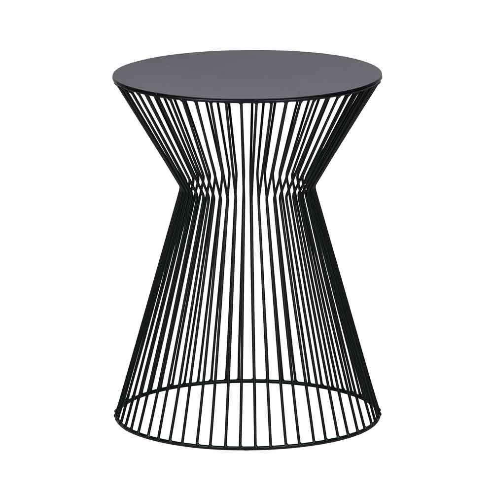 Beistelltisch Aus Schwarzem Metall Online Bei Milanari Com In 2020 Beistelltisch Metall Beistelltisch Beistelltisch Metall Schwarz