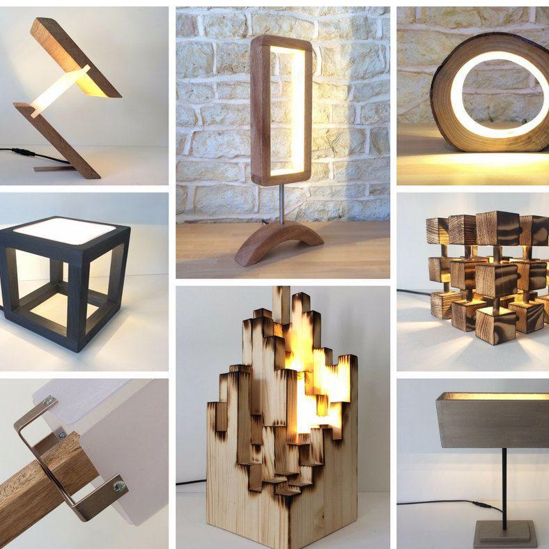 Petit Rondin De Led Table Lumineuse Lampe Bureau Clair Unique Lighting Contemporary Lamps Modern Lamp