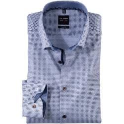 Photo of Olymp Level Five Hemd, body fit, Under-Button-down, Nougat, 43 Olymp