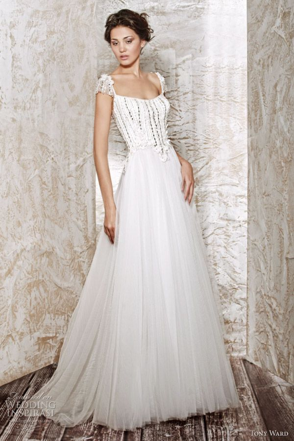 ethereal wedding gown collections | Tony Ward Wedding Dresses 2012 Bridal Collection