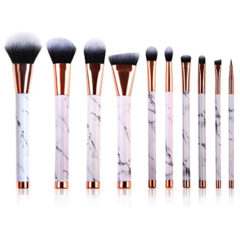 Marble Makeup Brush Set Powder Brush Eyeshadow Brushes