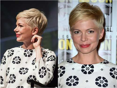 Michelle Williams Pixie Hair Hair Coiffures Cheveux Courts
