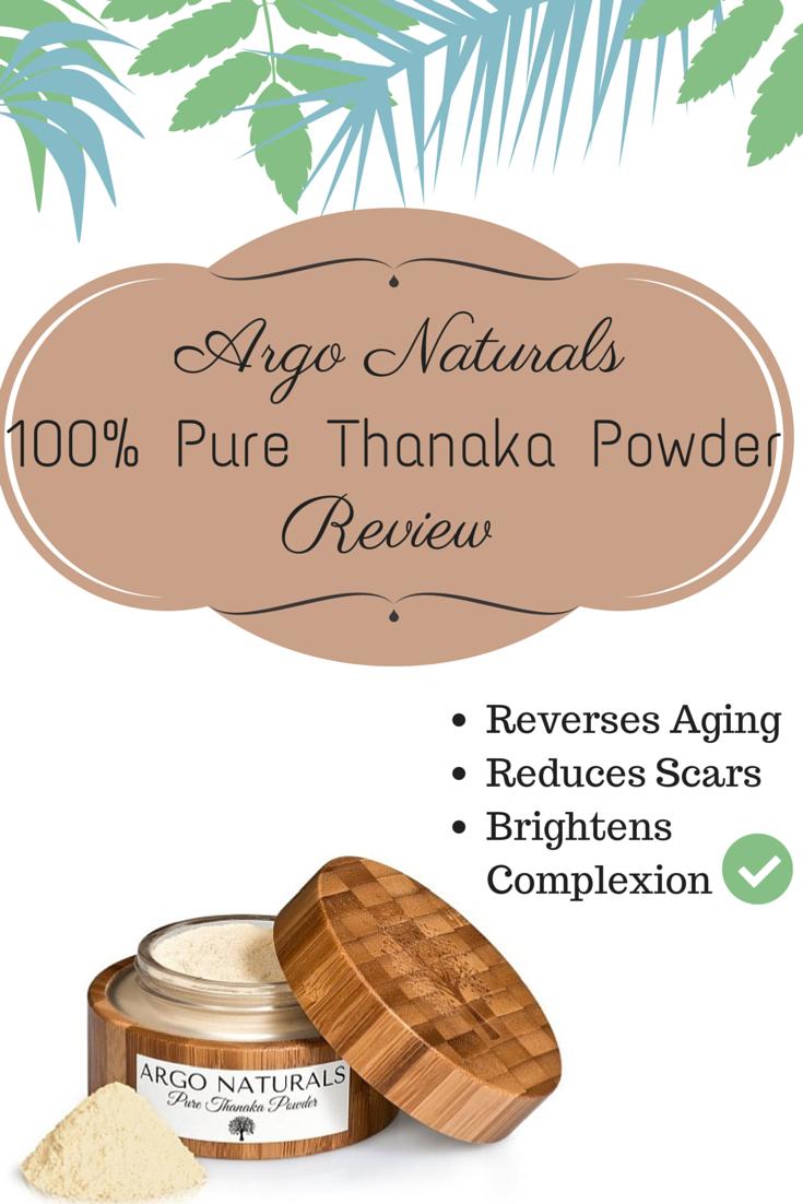 Argo Naturals 100% Pure Thanaka Powder Review -   skin care