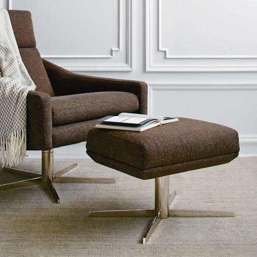 Austin Ottoman Living Room Chairs Modern Furniture Ottoman