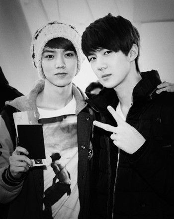 sehun and luhan selca - Google Search