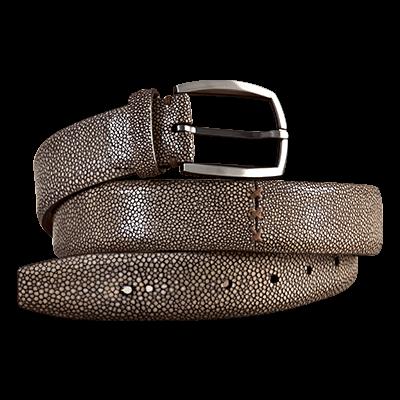 nuovo stile allacciarsi dentro taglia 7 Cintura in vera pelle di razza   shagreen   Belt, Leather, Fashion