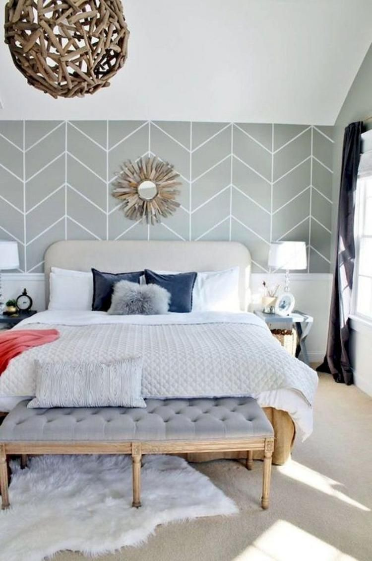 85 unique farmhouse style master bedroom ideas with