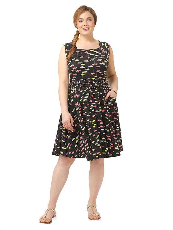 45a2cc0fb80 Dolce Vita Dress In Wild Flower Print by Effie s Heart