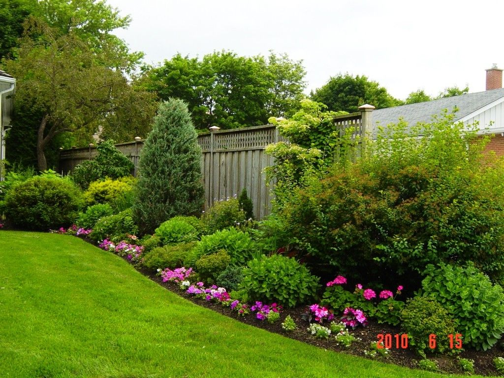 rectangle garden landscape ideas small yard landscaping