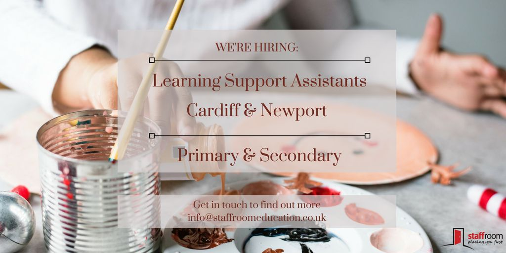 Teaching Jobs in Wales Learning support assistant