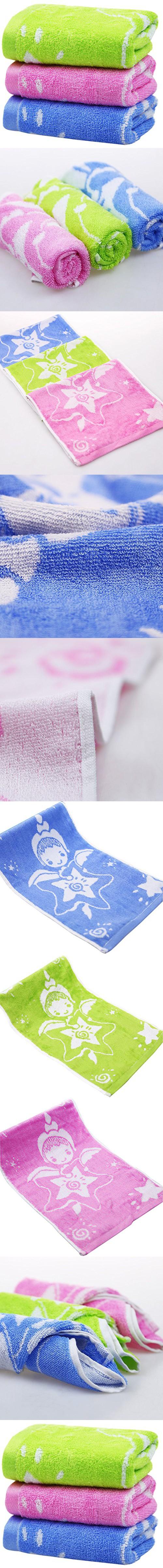 Moolecole Bamboo Fiber Baby Washcloths & Wipes Baby Lovely Angel ...