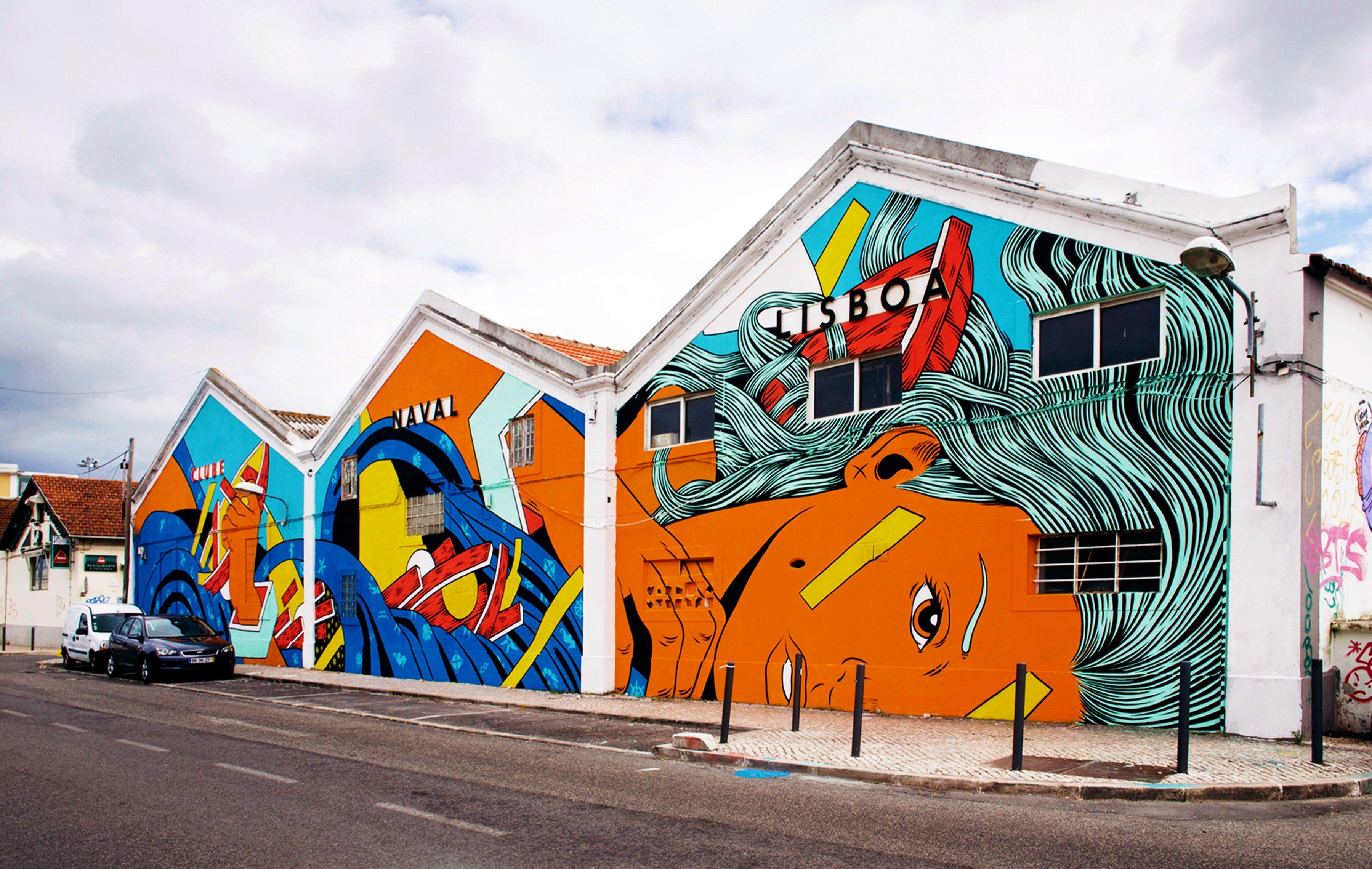 Urban Art in Lisboa 4: downhill, towards the river