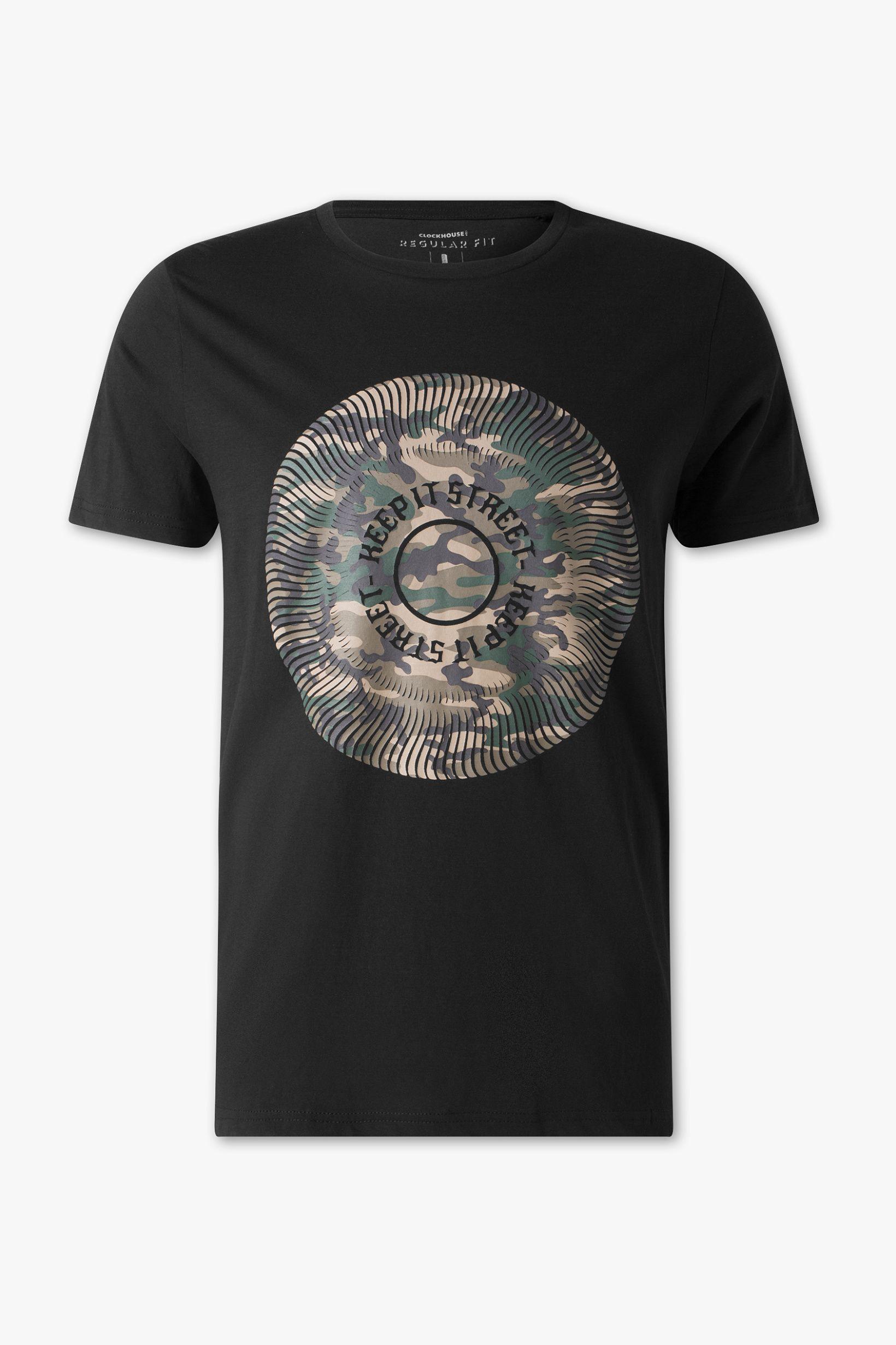 2dc96d629 T-Shirt - Regular Fit - Bio-Baumwolle | www.davidemartini.ink x clockhouse
