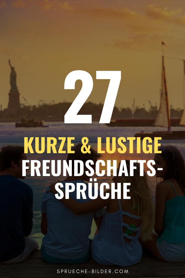 27 Kurze & lustige Freundschaftssprüche in 2020 | Sprüche