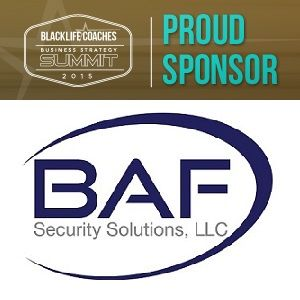 Thanks to sponsors like BAF Security Solutions LLC the #BLCSummit15 is going to be a huge success!