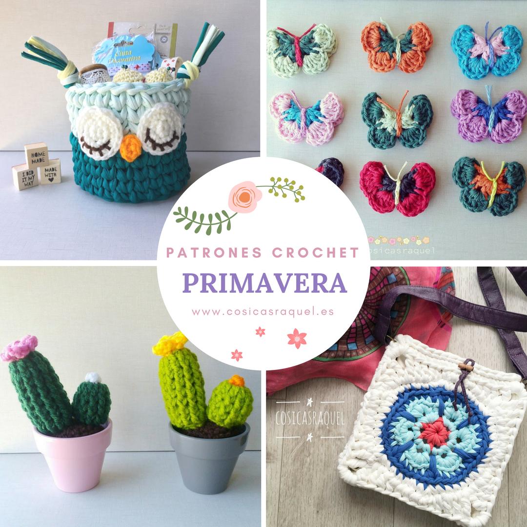 Patrones Crochet Primavera | Patrones, Crochet and Yarns
