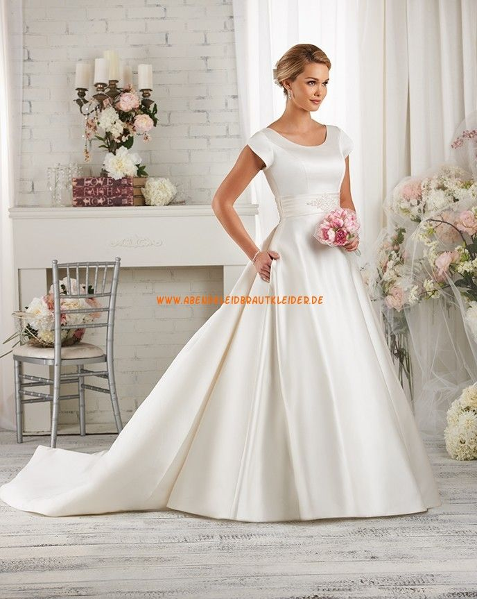 Bonny Bliss A-linie Schöne Elegante Brautkleider aus Taft mit ...