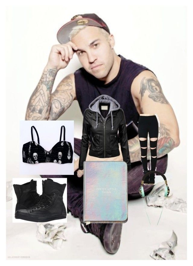 """""""Pete Wentz Outfit"""" by ahoy-mina on Polyvore featuring Converse"""