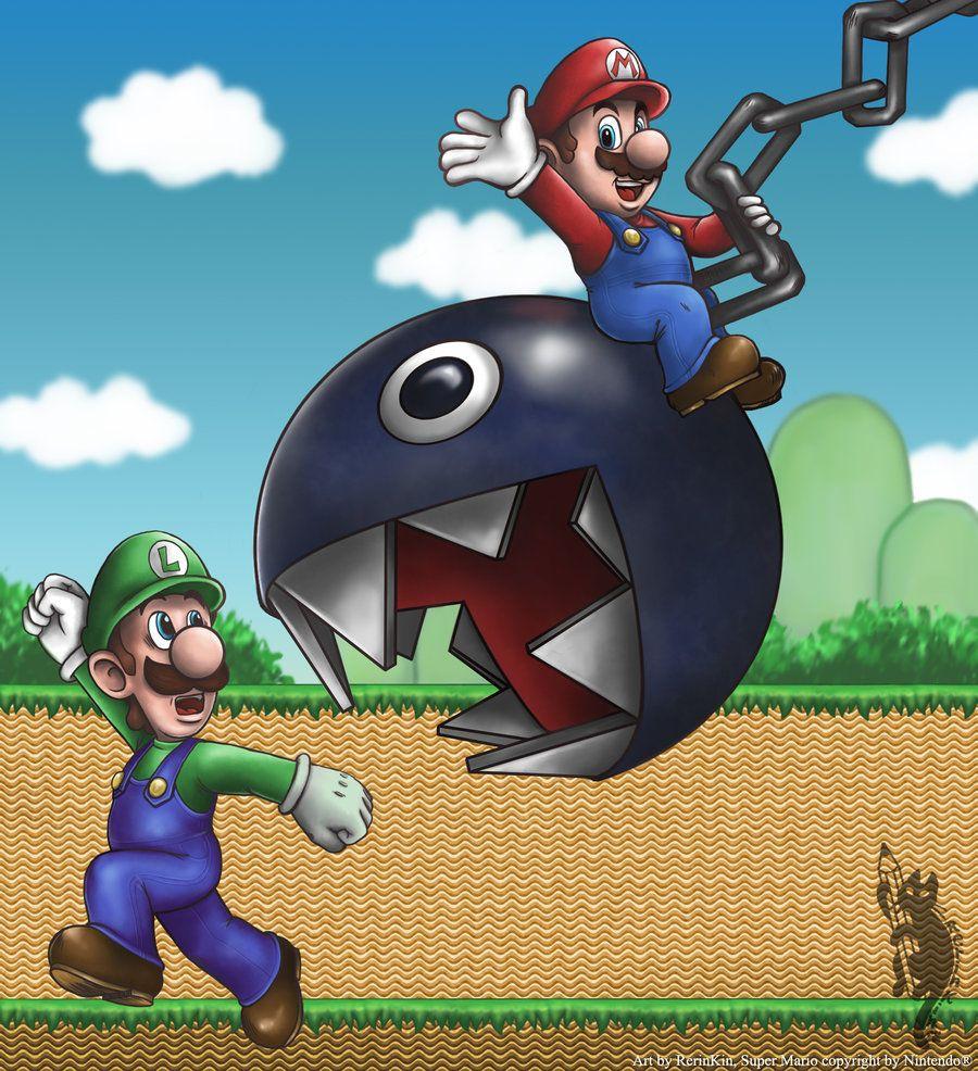 Wrecking Mario Ball By RerinKin.deviantart.com On