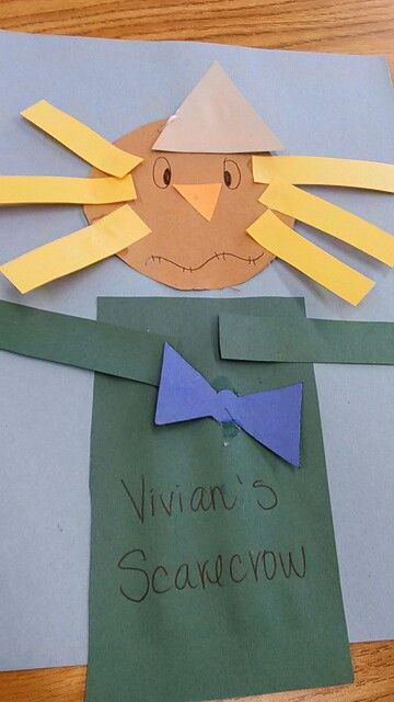 Project i did today with my class!! They loves it! Great project for first day of fall!!