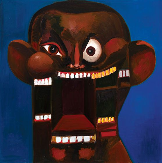 Artist George Condo Explains His Five Covers For Kanye West S Twisted Fantasy Slideshow Vulture Beautiful Dark Twisted Fantasy George Condo Dark And Twisted
