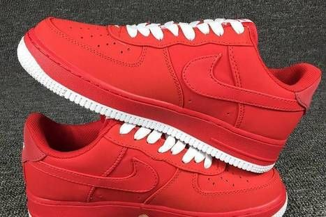 competitive price ab9ee 4a484 Nike Air Force 1 Low Red Men AirForce-33 - 60.95   nikeshoes  Scoop.it