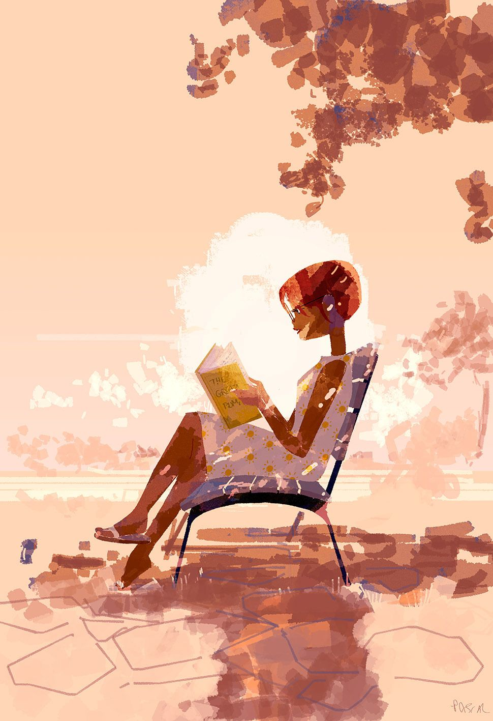 Cool off sketch at the end of a busy day! #pascalcampion