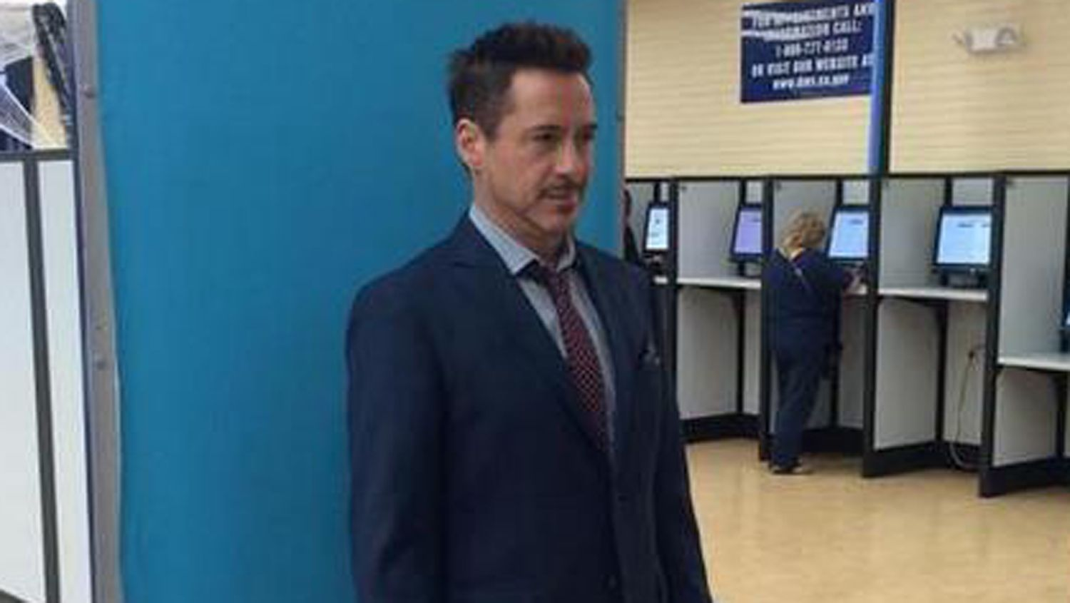 Robert Downey Jr. hits the DMV Here's a license for being