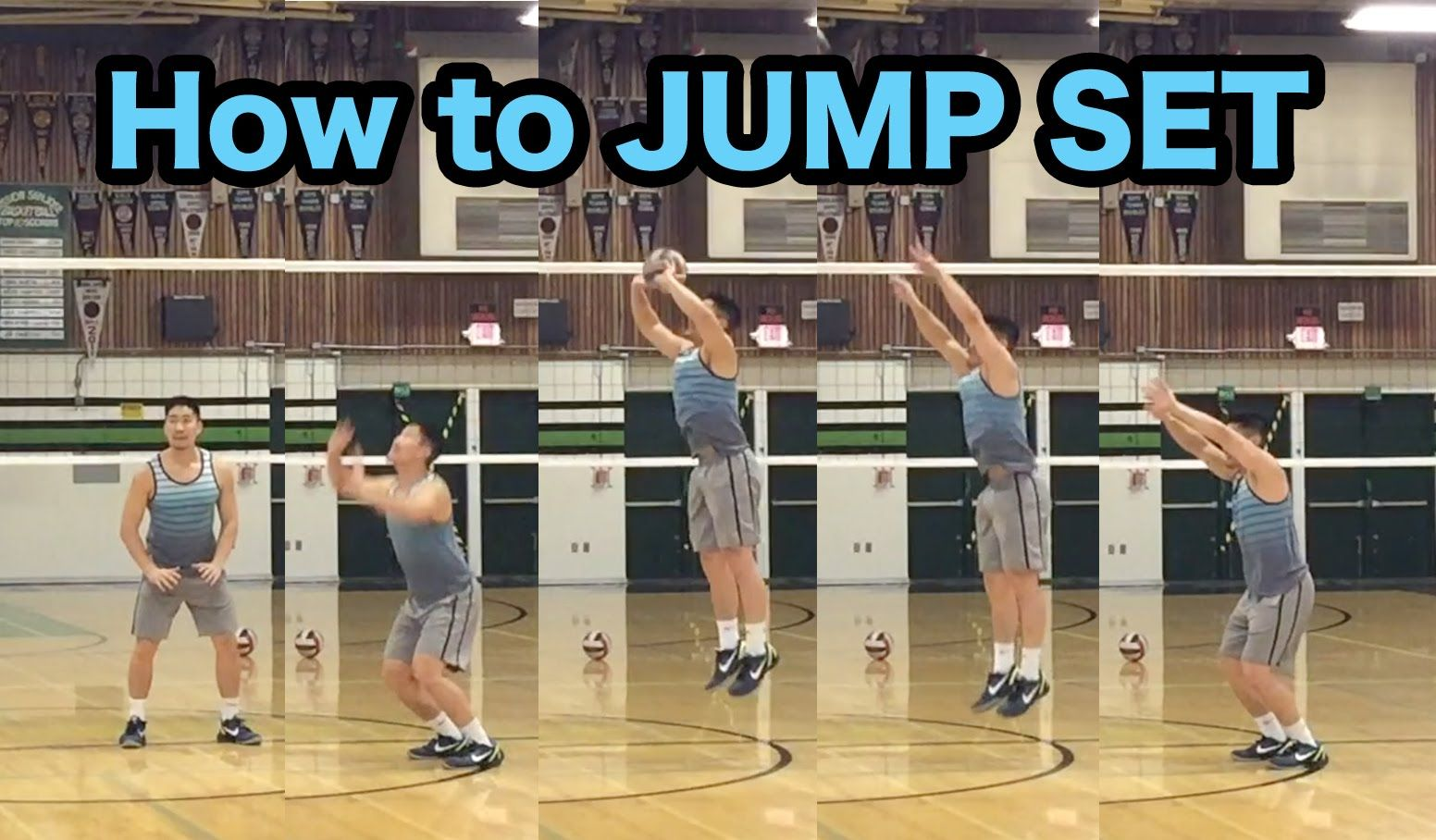 Jump Set Technique How To Set A Volleyball Tutorial Part 5 5 Volleyball Skills Volleyball Workouts Volleyball Drills