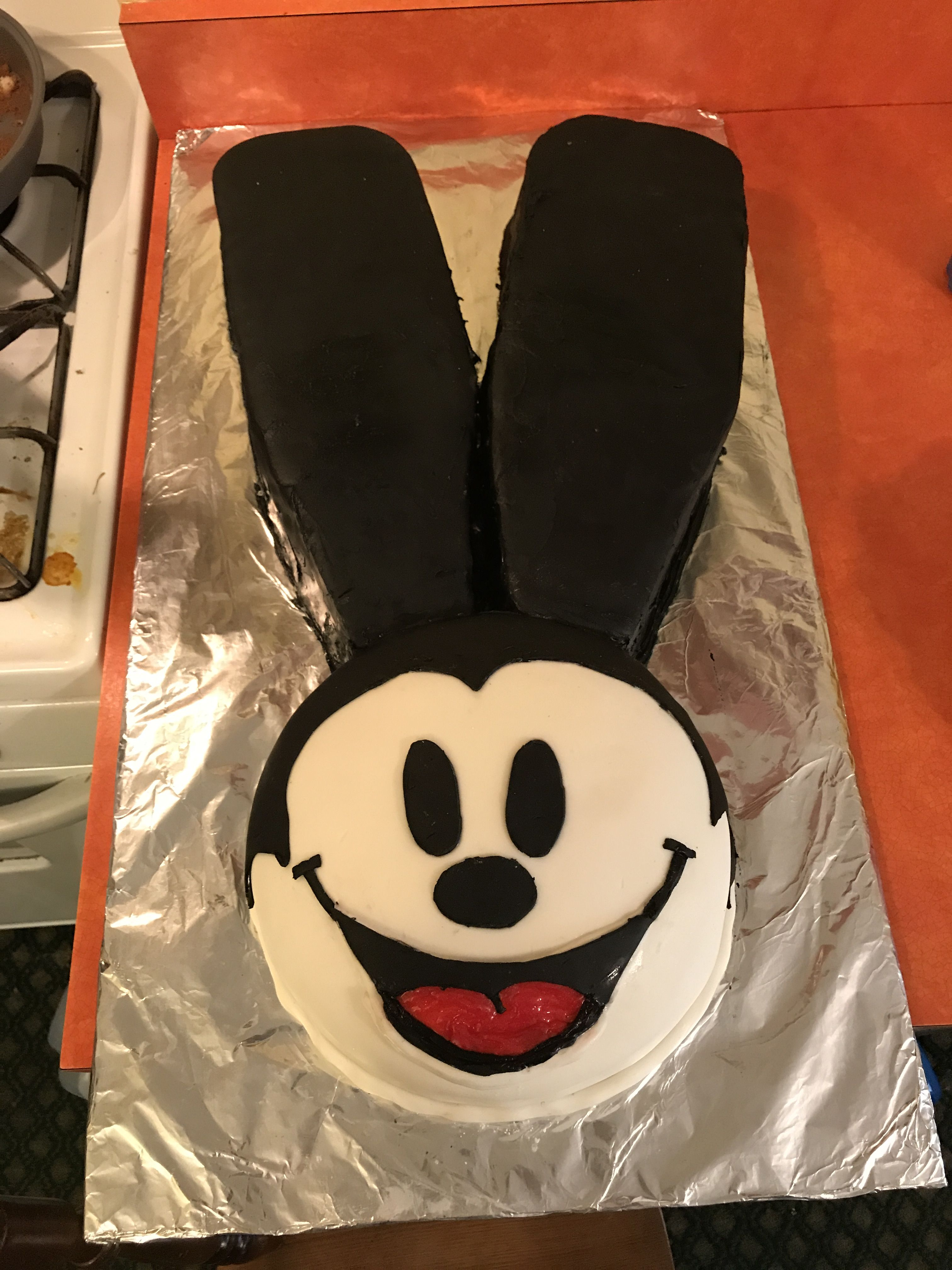 Oswald the lucky rabbit Birthday cake Oswald the lucky