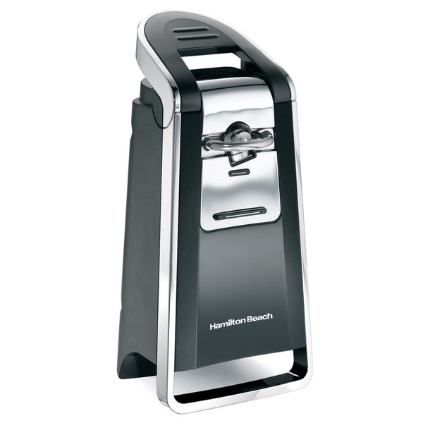 Hamilton Beach Black Smooth Touch Electric Can Opener