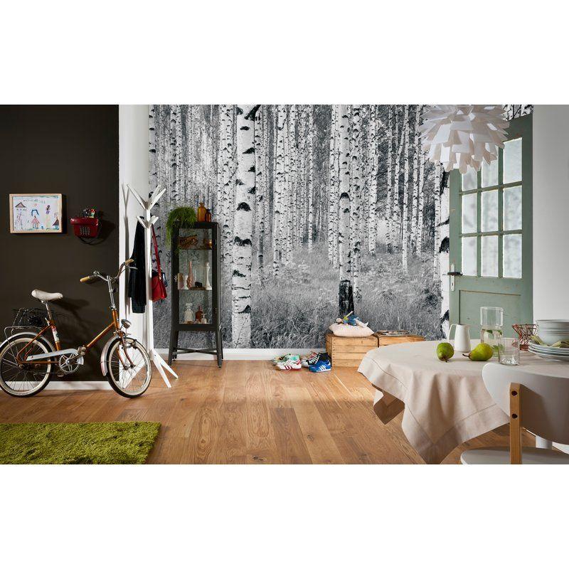 Wallpops Komar Birch Forest 145 X 98 Wall Mural Reviews