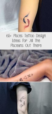 65+ Pisces Tattoo Design Ideas For All The Pisceans Out There - Tattoos and Body... -  65+ Pisces Tattoo Design Ideas For All The Pisceans Out There – Tattoos and Body Art  65+ Pisces  - #Body #design #firsttattooideas #girltattooideas #ideas #Pisceans #Pisces #Tattoo #Tattoos