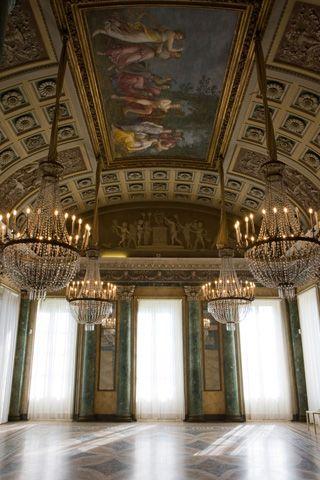 Sala Da The Milano.La Sala Da Pranzo Con Il Parnaso Di Andrea Appiani Milan
